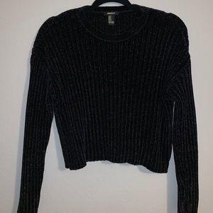 F21 crop sweater